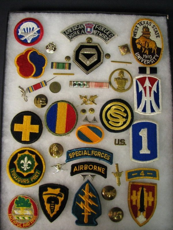 5014: MILITARY PATCHES AND INSIGNIAS