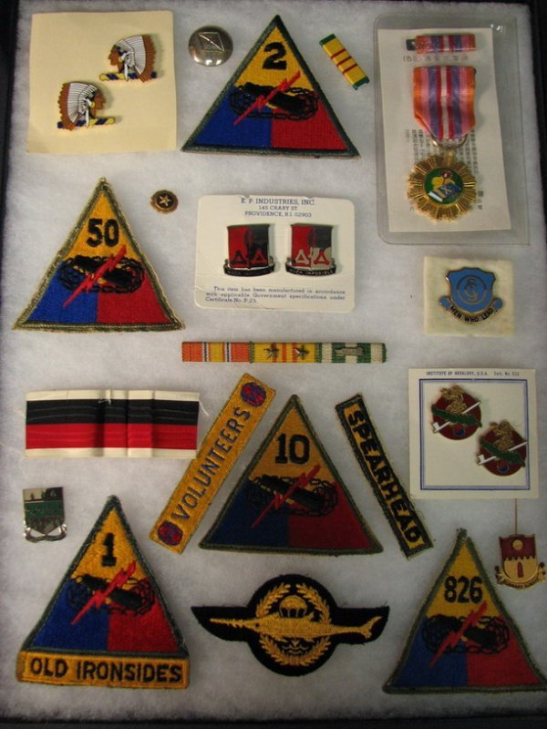 5020: MILITARY PATCHES AND INSIGNIAS
