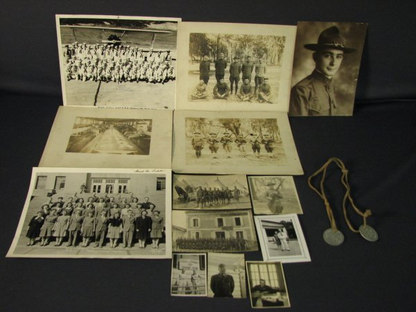 5023: WWI AND WWII PHOTOGRAPHS ESTATE LOT