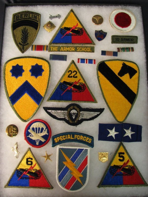 5024: MILITARY PATCHES AND INSIGNIAS