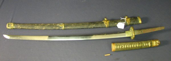 5147: WWII CAPTURED JAPANESE MILITARY SWORD