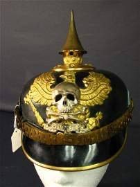 5231: IMPERIAL GERMAN FUSILIER OFFICERS PICKELHAUBE