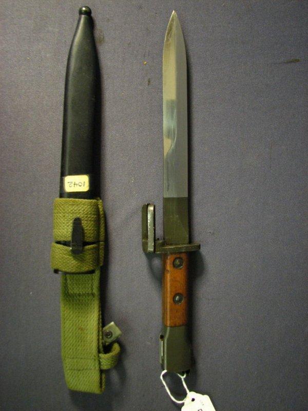 5386: CANADA M1953 FN FAL BAYONET