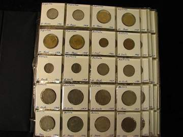 6900: LARGE BOOK OF WORLD COINS