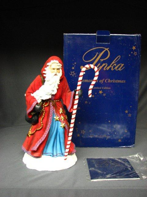 7001: PIPKA SANTA CANDY CANE CHRISTMAS