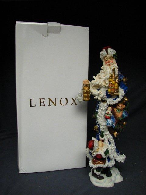 7019: LENOX PENCIL SANTA MERRY GRANDFATHER FROST