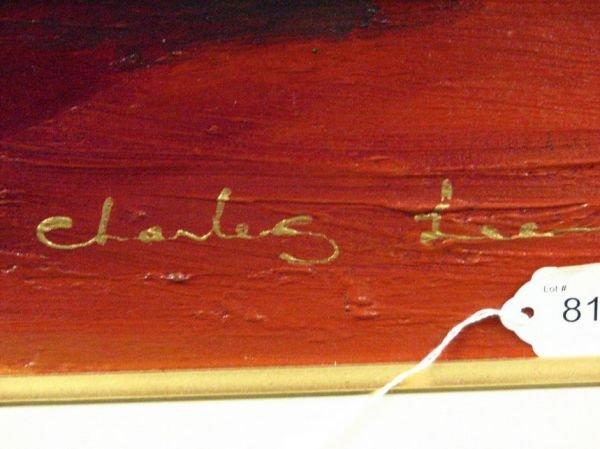8115: CHARLES LEE ORIGINAL PAINTING - 3