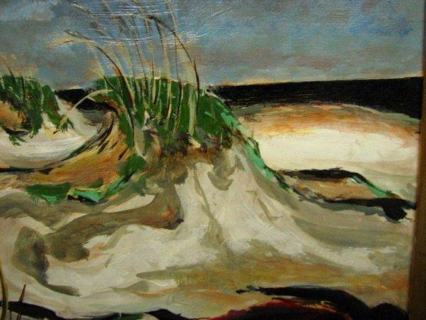 166: DONALD STANLEY VOGEL Sand Dune Painting