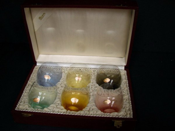 290: SET OF MOSER GLASSES IN FITTED CASE - 2