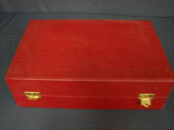 290: SET OF MOSER GLASSES IN FITTED CASE - 3