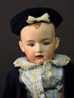 Heubach Reproduction Boy Doll