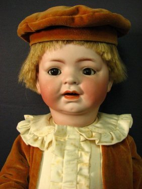 GERMAN BISQUE TODDLER BOY
