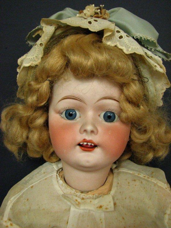 441: FULPER BISQUE HEAD CHILD