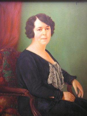 397: P. TARTOUZ PORTRAIT OF MATRONLY WOMAN