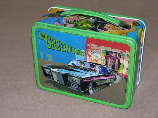 547: 1967 GREEN HORNET GREEWAY LUNCH BOX AND THERMOS - 2