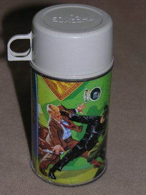 547: 1967 GREEN HORNET GREEWAY LUNCH BOX AND THERMOS - 6