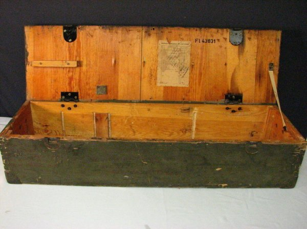 1019: WWII GERMAN MILITARY CASE