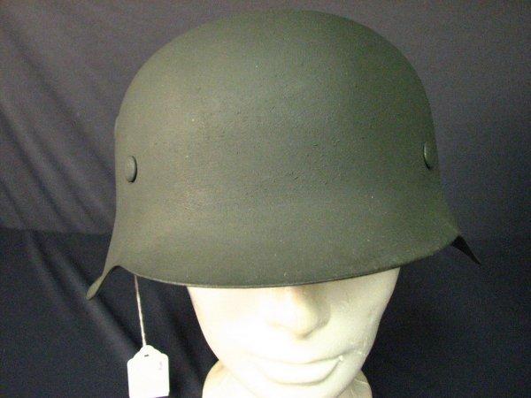 1031: WWII GERMAN M-42 COMBAT HELMET MINT