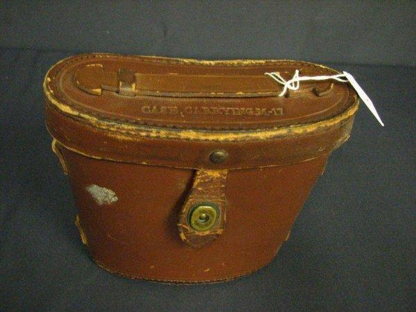 1045: 1942 WESTINGHOUSE M3 BINOCULARS M17 CASE