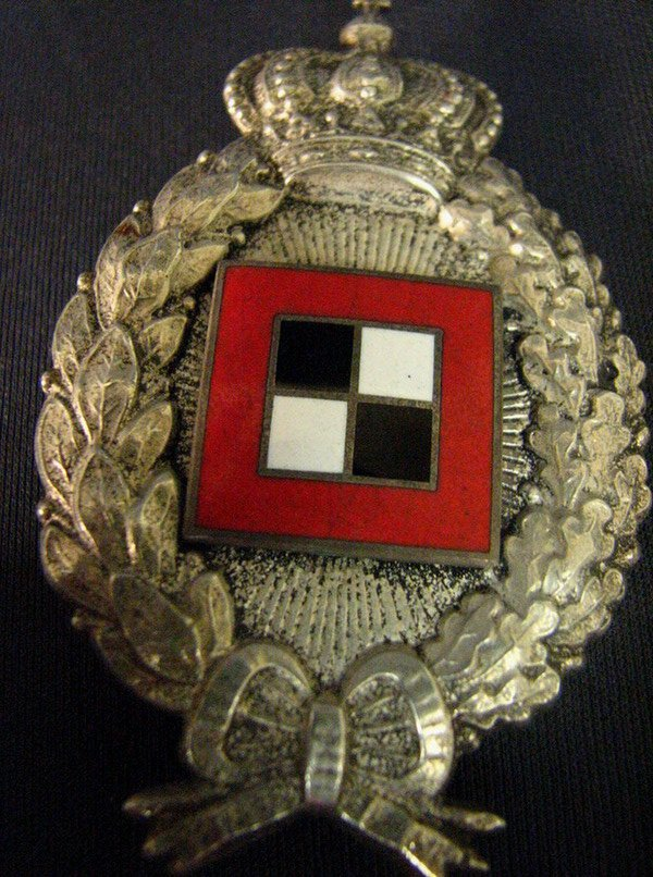 1083: WWI GERMAN IMPERIAL BAVARIAN OBSERVER BADGE - 10