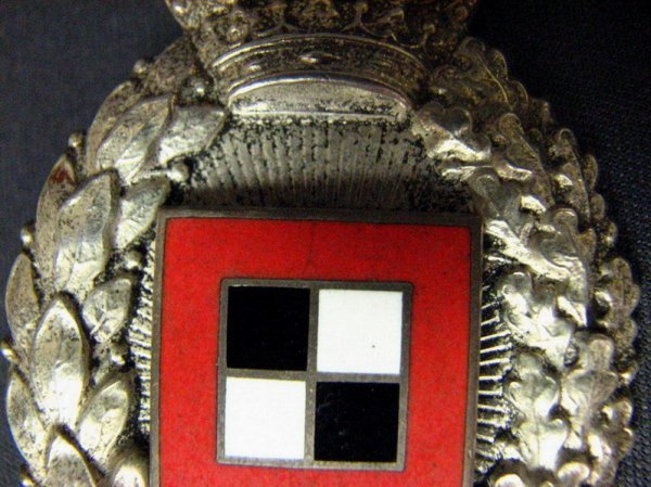 1083: WWI GERMAN IMPERIAL BAVARIAN OBSERVER BADGE - 4