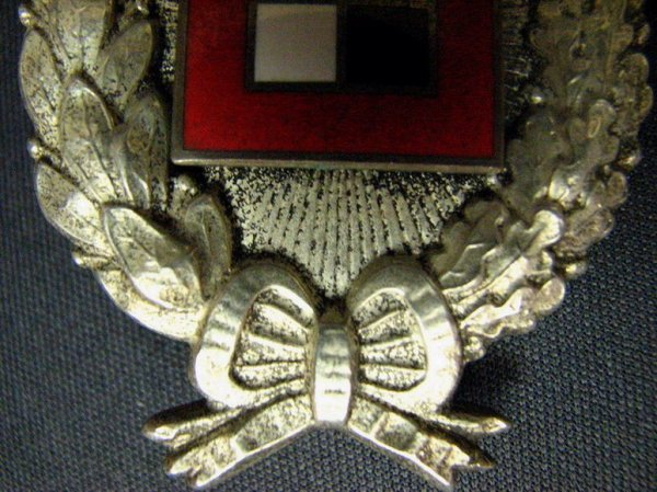 1083: WWI GERMAN IMPERIAL BAVARIAN OBSERVER BADGE - 8