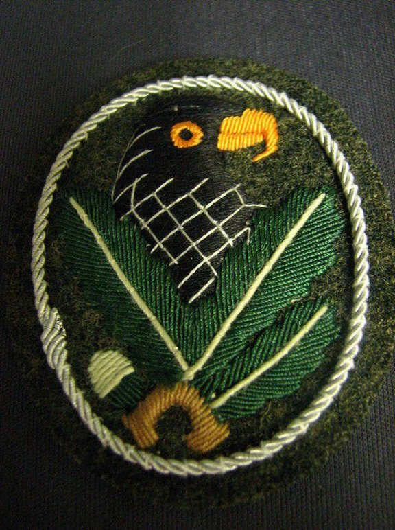 1255: GERMAN WWII ARMY SNIPER BADGE