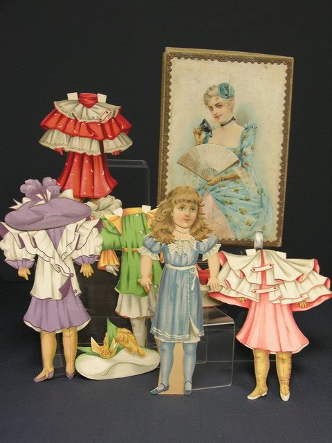 801: VICTORIAN PAPER DOLLS IN BOX     Raphael Tuck & So