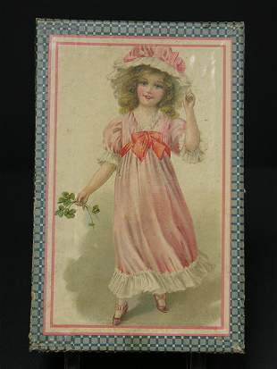 VICTORIAN PAPER LITHOGRAPH ON WOOD PUZZLE PICTURE