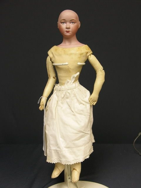 807: 17 inch BISQUE DOLL F.3.