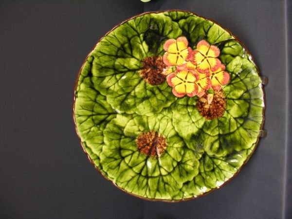 9: MAJOLICA CHARGER GERMANY