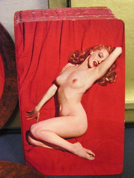 155: MARILYN MONROE NUDE CARDS AND COASTER SET P.L. - 5