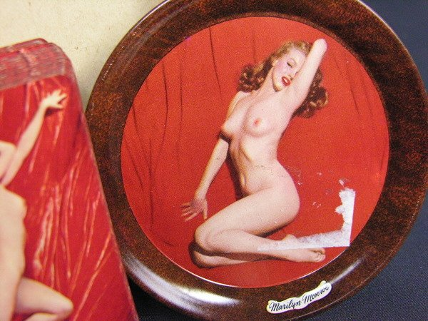 155: MARILYN MONROE NUDE CARDS AND COASTER SET P.L. - 6