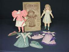 493: 1800s TUCK & SONS PAPER DOLL/DOLLS DOLLY DELIGHT
