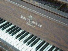 679: HEINTZMAN & CO Grand PIANO  CANADA  - 4