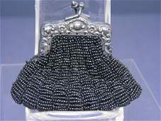 285: BEBE OR FASHION DOLL ANTIQUE BEADED PURSE