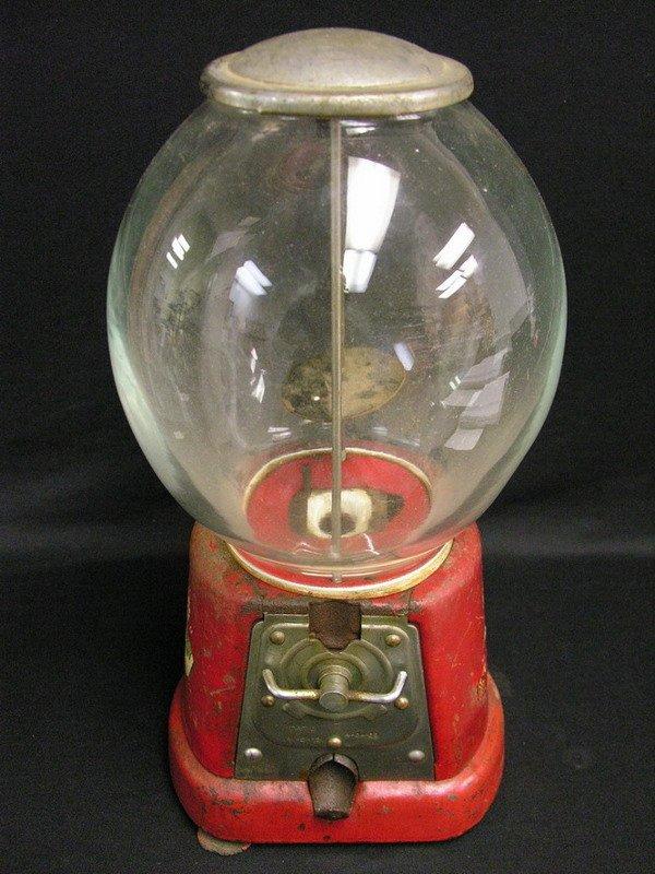 360: ADVANCE MODEL D 1 CENT GUMBALL MACHINE
