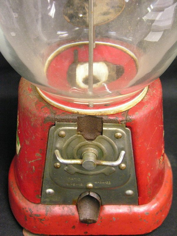 360: ADVANCE MODEL D 1 CENT GUMBALL MACHINE - 2