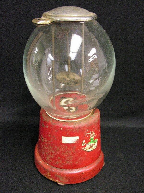 360: ADVANCE MODEL D 1 CENT GUMBALL MACHINE - 6