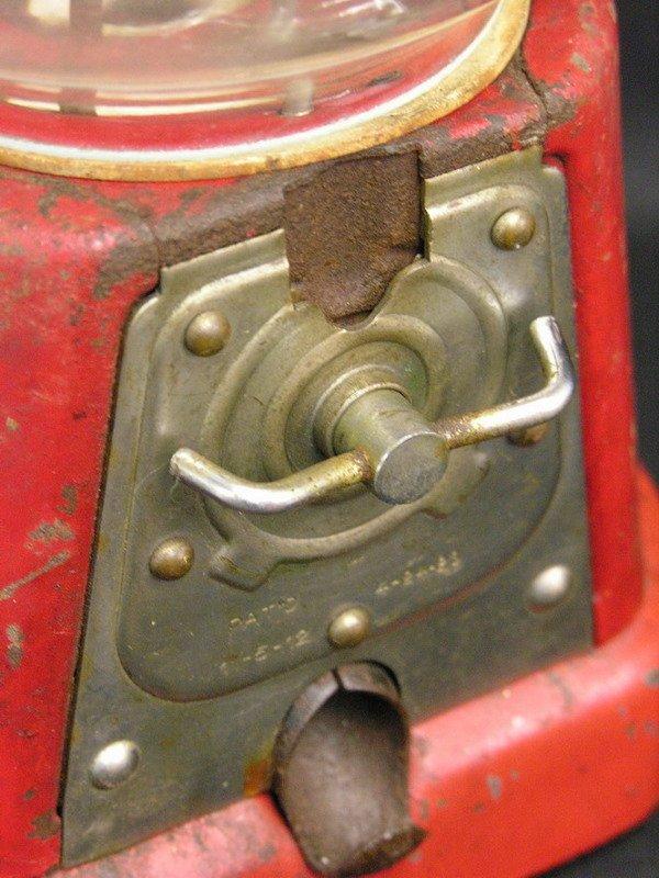 360: ADVANCE MODEL D 1 CENT GUMBALL MACHINE - 8