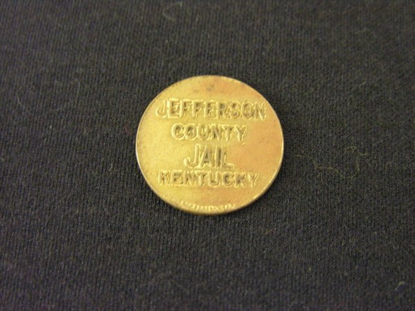 1020: JEFFERSON COUNTY KENTUCKY JAIL TOKEN