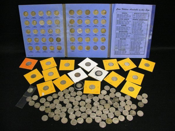 1023: 157 ROOSEVELT SILVER DIMES ESTATE LOT