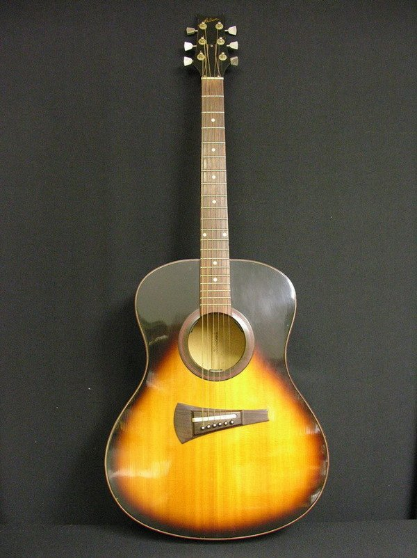 1: VINTAGE MK 53 GIBSON 6 STRINGS ACOUSTICAL