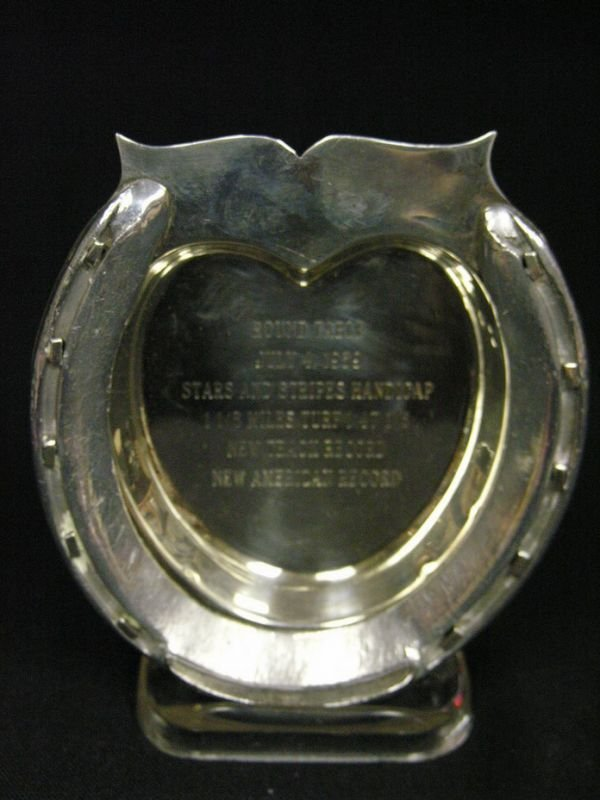 21: 1959 STERLING HORSE RACING TROPHY