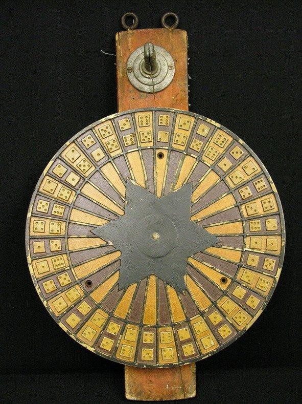 502: BAR SALOON DICE GAMING GAMBLING WHEEL