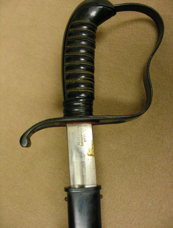 10: GERMAN MILITARY SWORD