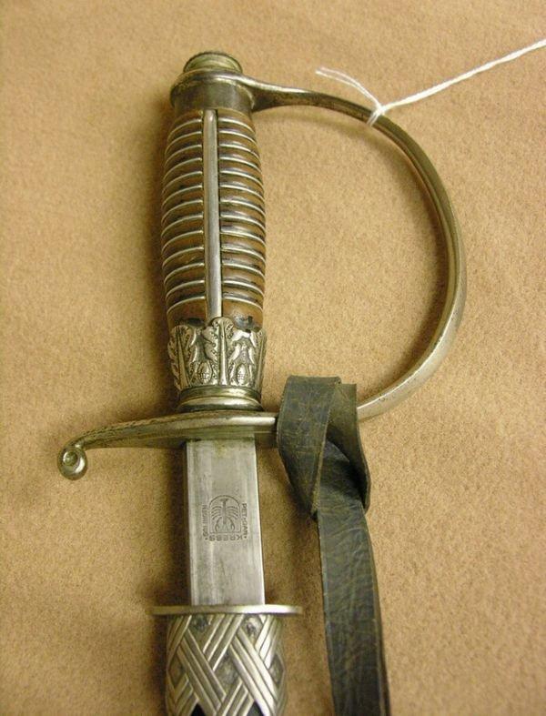 11: WWII GERMAN SWORD