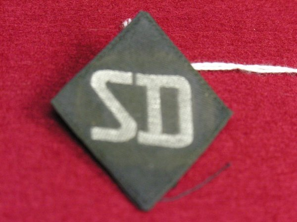 51: RARE WWII GERMAN SD SECURITY OFFICER INSIGNIA