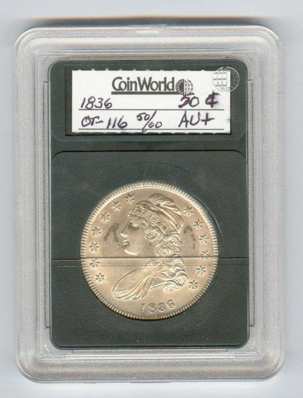 1409: 1836 U.S. HALF DOLLAR
