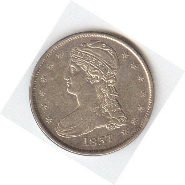 1410: 1837 U.S. HALF DOLLAR